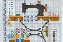home cross stitch