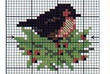 birds cross stitch