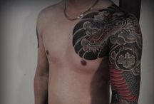 Japanese Tattoos / Japanese style tattoos.