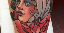 Neotraditional Tattoos / Gallery of neotraditional style tattoos for women and men.