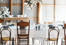 dine / tables, place settings & good company
