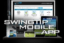Golf - SwingTIP Wireless 3D Golf Swing Analyzer & Mobile App / Bluetooth-enabled 3D Motion Sensors that transmit real-time golf swing analysis to an Apple iOS or Android mobile app deliver the ultimate interactive learning experience to improve your golf game. / by SwingTIP Golf