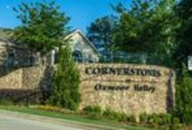Cornerstones at Oxmoor Valley, Birmingham, AL - an Epcon Community / Cornerstones at Oxmoor Valley, an Epcon Community, is located in Birmingham and offers maintenance-free luxury ranch homes surrounded by stunning beauty!  We know living here is different. We designed it that way. Single level condominium living means little or no upkeep. Maintenance free means more time for you; more time to spend in our extensively equipped clubhouse with fitness center and outdoor swimming pool, or one of three Robert Trent Jones Golf Courses right outside your door!