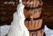 Wedding cakes - yum!