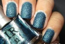 Blue Polishes / These are my swatches of my blue nail polishes..