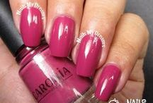 Pink Polishes / These are my swatches of my pink nail polishes..