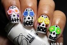 3D Nail Art / This board contains all of my nail art that contains any 3D object. (^^,)