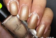 Brown/Nude Polishes / These are my swatches of my brown/nude nail polishes..