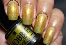 Yellow/Gold Polishes / My swatches of all my yellow nail polishes..