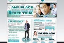 Website Designs / Websites we have designed and/or developed