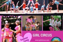 Girl Circus.com / Girl Circus shows and aerial, acrobatics, gymnastics, contortion and circus life