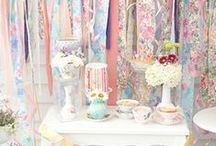 It's all oh so pink to me!!! / J'adore shabby chic!!