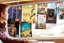 """Lire & voyager avec Audiolib / """"Lire, c'est voyager, voyager, c'est lire."""" Victor Hugo Partez ailleurs avec Audiolib."""