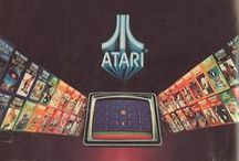 ATARI / Παλιές διαφημίσεις και προϊόντα της εταιρείας Atari.│Old and retro ads, commercials and products from Atari.