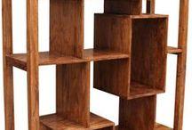 Regale mit Charakter - Shelfs with Personality / #Regale sind mit meist unterschätzten Möbel. Natürlich bringen Sie Stauraum und schaffen Platz in der Wohnung. Aber Sie können auch echte Charakter-Möbel sein - der #Blickfang in jedem Raum. Und das in Gross und Klein und Schmal und Breit, in Vintage und Massiv und Metall... / by Guru-Shop