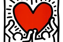 Keith Haring / Love his way of painting