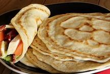 Recipes - Wrappy things / Wraps, Naans, Tortillos etc