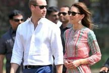 Duchess of Cambridge in Anita Dongre / The Duchess of Cambridge, ‪Kate Middleton‬ looks elegant in a classic Jaipur inspired ‪‎Gulrukh‬ tunic dress.