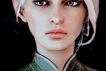 Lealetta Lavellan --- Dragon Age OC / Quite young to be an Inquisitor ((21 years old)); tackling obstacles in her path. > Main Inquisitor > Minor OC of mine