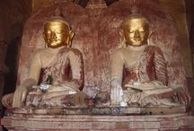 Myanmar 2006 / Rondrit: Yangon, Bago, Kyalktiyo, Bagan, Pakkoku, Monywa, Sagaing, Mingun, Amarapura, Ava, Heho,Taunggyi, Kakku, Inlemeer, In Dein, / by Crea Oma