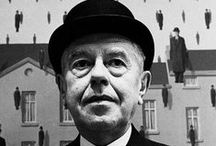 """BELGIË /  Magritte René A / Bezoek : woonhuis in Jette thematische rondleiding rond """"Wie is Sheherazade ? De vrouwen rond Magritte """" nov. 2013.  -Boek :Rene Magritte gezien door David Sylvester (Mercatorfonds)"""