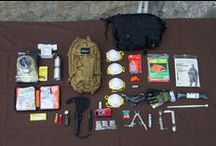 Survival: EDC, BOB, Apocalypse Preparation, Survival, and Camp / Whether you're going for a weekend or it's the end of the world. These are cool and mostly useful tips to take into account. / by Nick Ranney