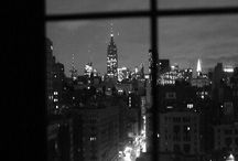 Manhattan. / I'll gather up the avenues and leave them on your doorstep.  / by Bianca Rose.