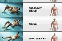 exercises / exercises - abs - legs - pilates