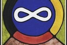 Autochtone - arts et musique / Œuvres d'arts, musique, danse, croyances et autres faits rattachés à PNMI (Premières Nation, Métis et Inuits).  Le site du CSCNO a d'excellentes ressources à ce sujet.  Aller voir sous le volet de construction identitaire.  De plus, aller voir mon tableau «Musique - Vidéos à visionner».