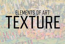 Arts - Éléments et principes en arts / Un aperçu des éléments et principes en arts.  Une bonne collection pour entamer une discussion ou pour utiliser comme inspiration pour un projet d'arts.