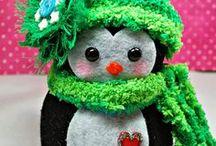 tvoření - zima a Vánoce