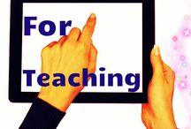 Technologie - Logiciels pour enseignants (es) / Une compilation de logiciels et d'applications à utiliser en salle de classe.