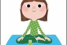 Yoga pour enfants / Voici un moment pour se détendre.