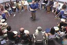 Musique - Cercle de tambours