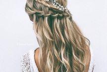 Prom hairstyle / Tumblr hair, for weddings, proms, graduaciones, bodas, etc