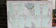 Wedding Table Plan Ideas / Different ideas for wedding tableplans