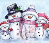 VV - zima, Vánoce, Silvestr, andělé