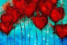 VV - Valentýn, srdce