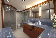 Nordhavn 120' Renderings / Custom yacht interior designed by Destry Darr Designs. A vision of luxurious life at sea. The look of the new Nordhavn 120 will be simple and elegant yet contemporary in its styling. These photos are computerized color renderings of the yacht which is due to be completed in late 2012. To see 360 degree virtual tours go to:  http://destrydarrdesigns.com/gallery/120/destrydarr_custom_yachts_120nordhavn.html  #custom #yacht #interior #design