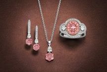 Pink diamond Rings & Jewellery / Natural Australian pink diamonds set in hand crafted rings and jewellery.