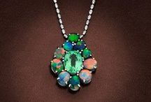 Australian Black Opal Jewelry / Finest quality Australian opals set in jewellery hand crafted by skilled jewellers on the premises. Giulians Four Seasons Hotel 199 George St Sydney, Level 3