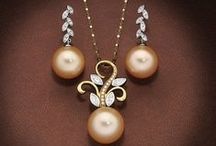 Golden South Sea Pearls / Golden South Sea pearl jewellery by Giulians, Sydney.