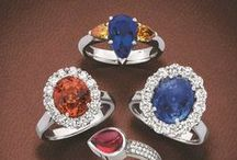 Giulians precious gemstones / This board features precious and semi-precious gem jewellery by Giulians, Sydney, Australia.