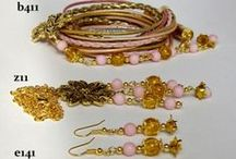 jewellery (in gold colour)