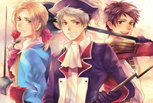 Hetalia / Welcome! If you wanna join and I didn't add you, just comment!  Keep it clean. NO NUDITY, or anything offensive.