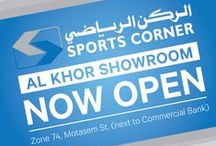 Special offers and sale - Doha, Qatar / 17 outlets around Doha provide you the highest quality Brands and Sports Equipments.