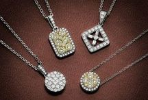 Fancy Yellow diamond jewellery / Natural yellow diamond jewelry by Giulians
