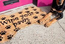 ..when visitors come.. / Novelty doormat