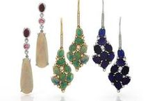 Drop Earrings / Drop style earrings, some chandelier designs, classic elegant creations, and modern dynamic forms.