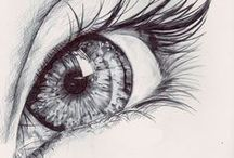 Eye/Eye Drawing